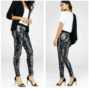 🖤 EUC Express Black Sequin Pants 🖤